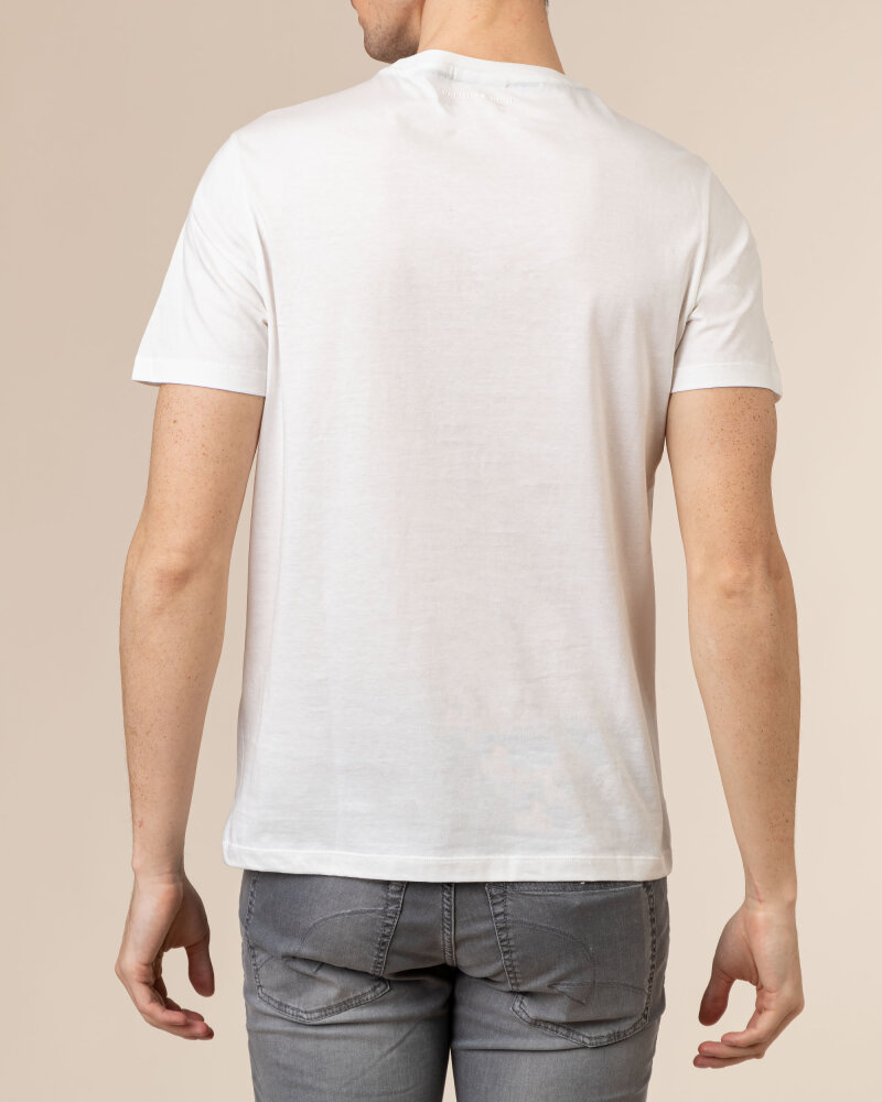 T-Shirt Baldessarini 5015_20013_1015 biały - fot:4
