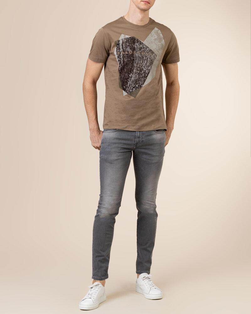 T-Shirt Baldessarini 5015_20013_8013 brązowy - fot:5