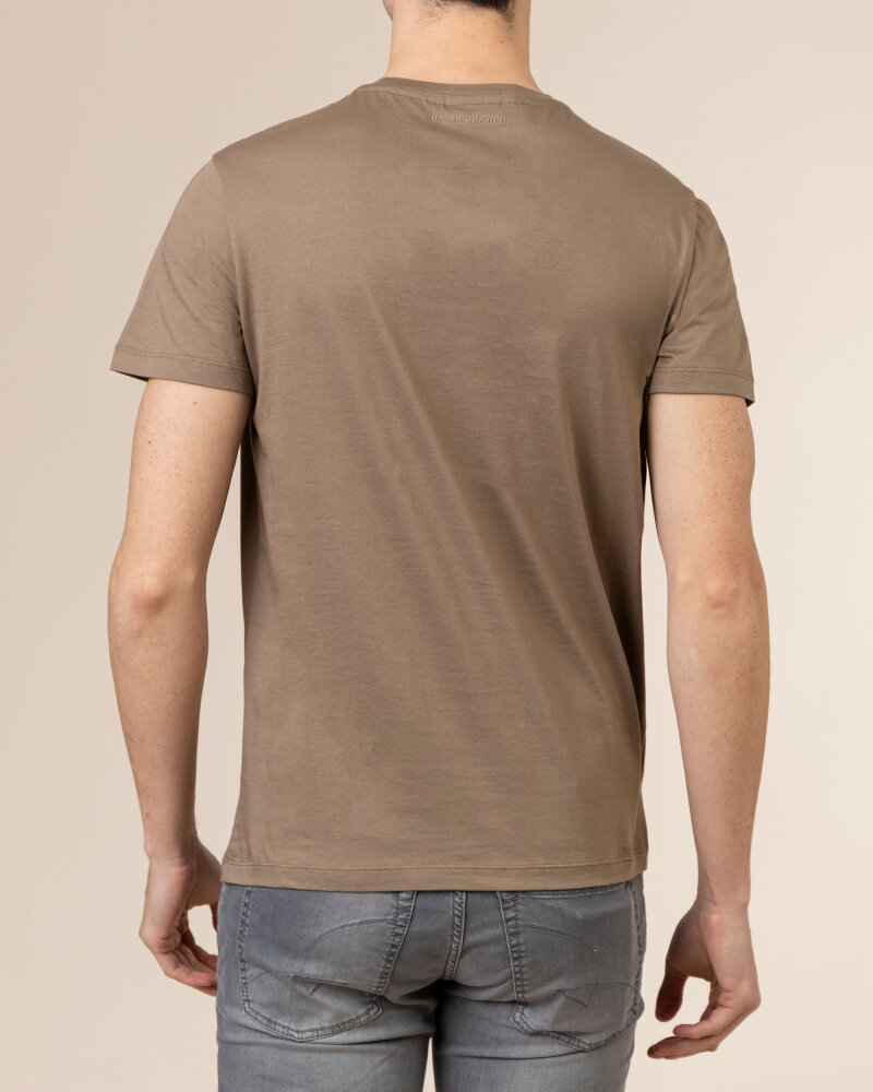 T-Shirt Baldessarini 5015_20013_8013 brązowy - fot:4