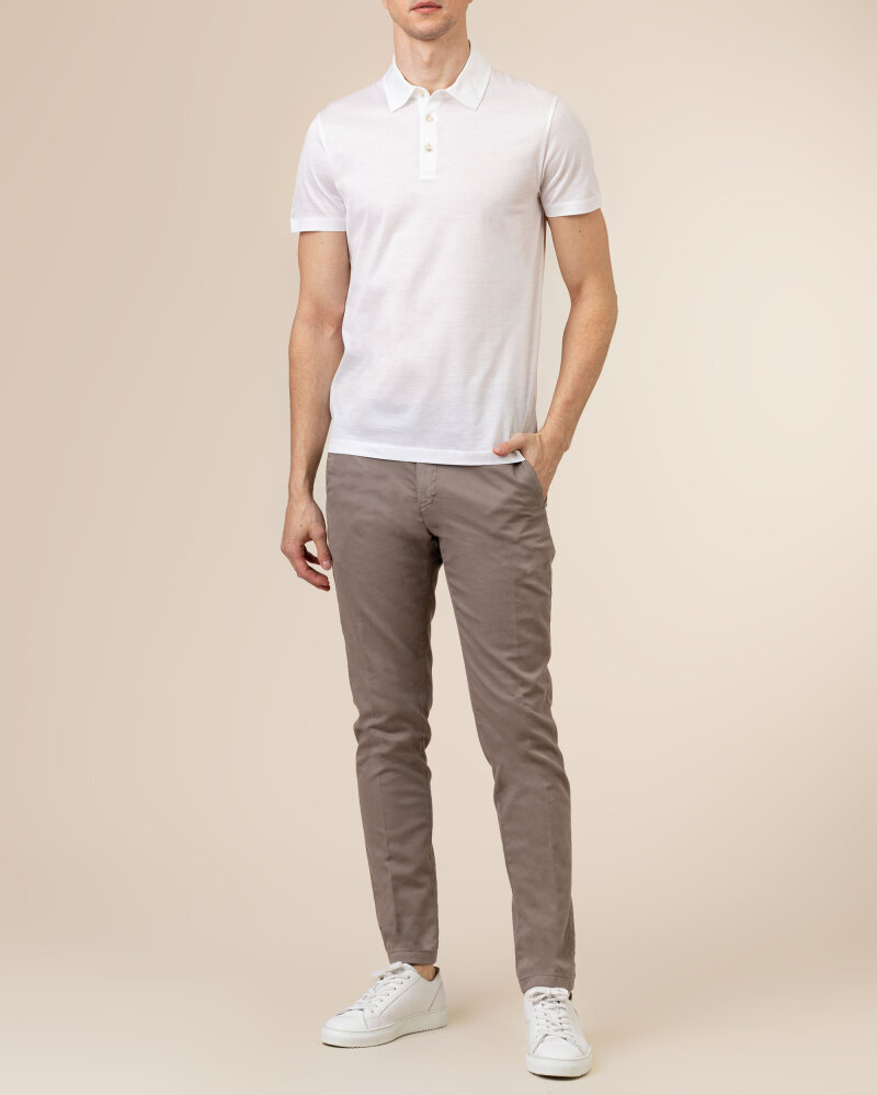 T-Shirt Baldessarini 5047_10009_1010 biały - fot:5