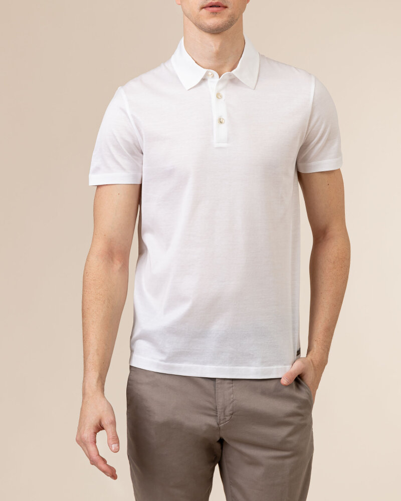 T-Shirt Baldessarini 5047_10009_1010 biały - fot:2