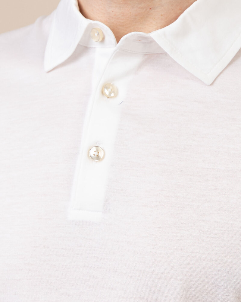 T-Shirt Baldessarini 5047_10009_1010 biały - fot:3