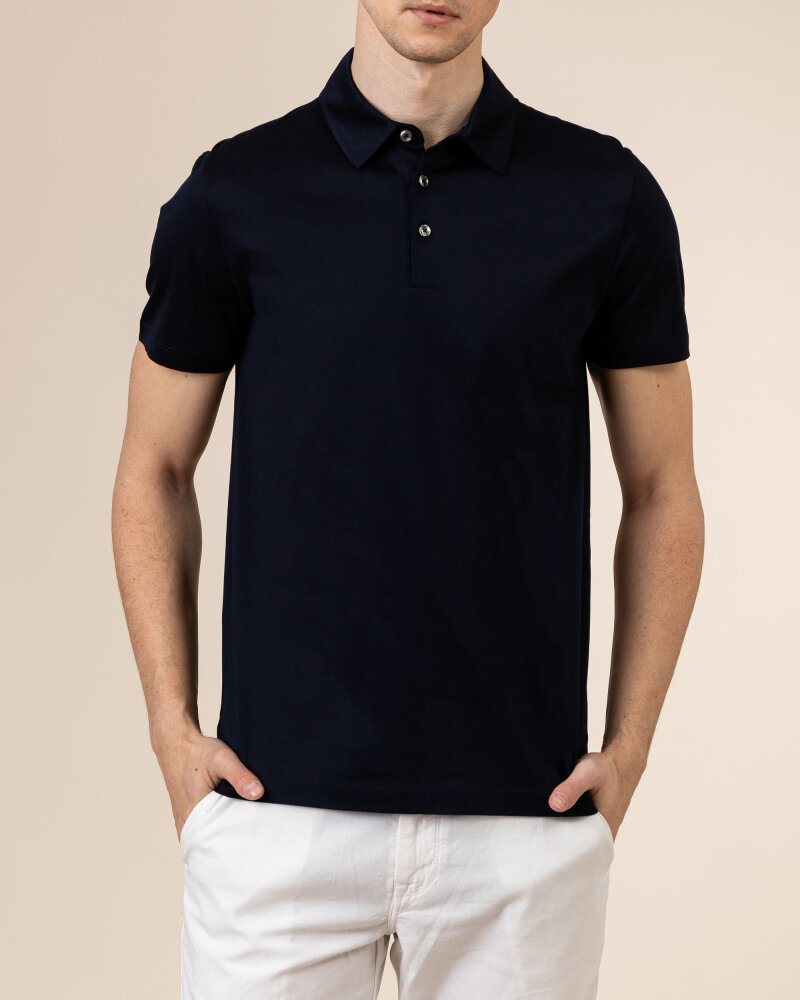 T-Shirt Baldessarini 5047_10009_6300 granatowy - fot:2