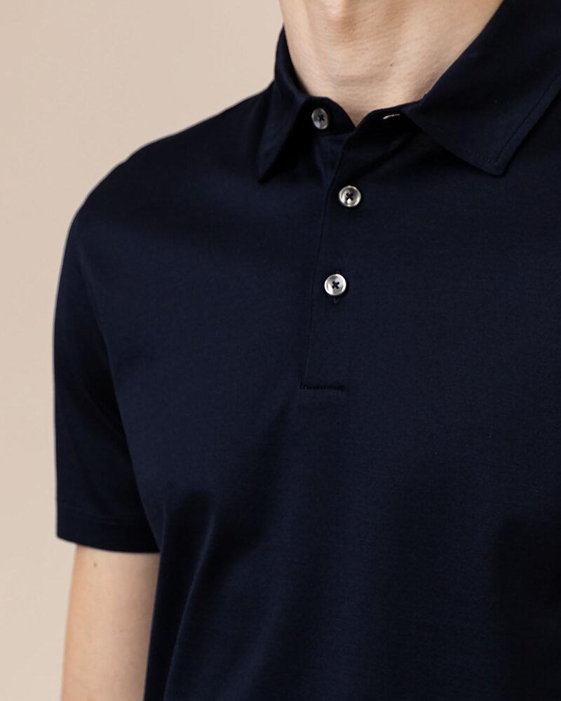 T-Shirt Baldessarini 5047_10009_6300 granatowy - fot:3