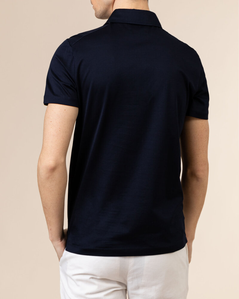 T-Shirt Baldessarini 5047_10009_6300 granatowy - fot:4