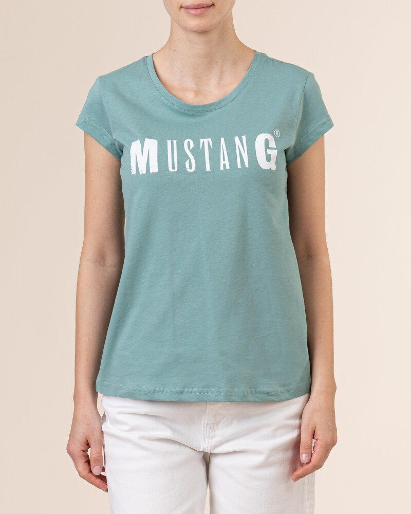 T-Shirt Mustang 1005455_6236 zielony - fot:2