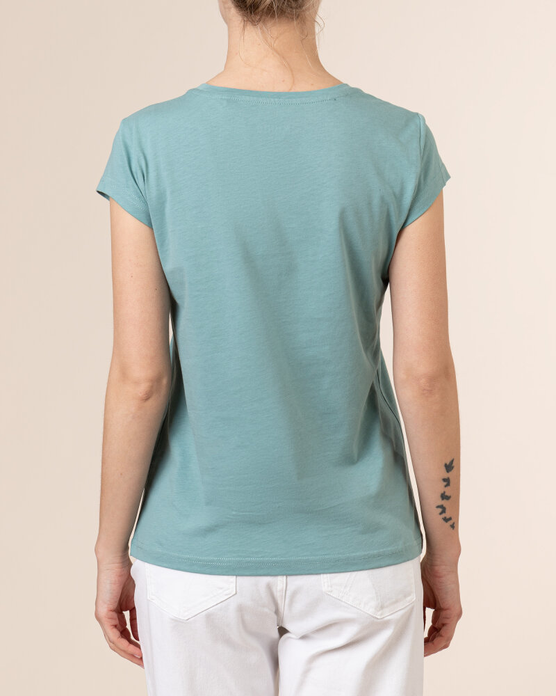 T-Shirt Mustang 1005455_6236 zielony - fot:4