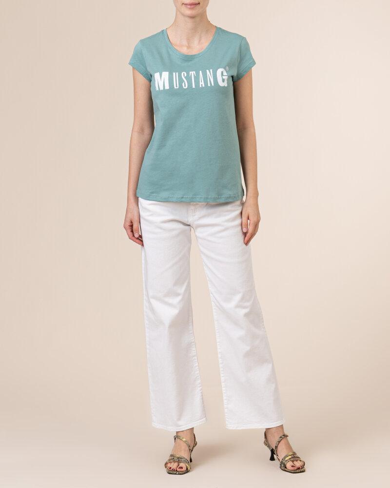 T-Shirt Mustang 1005455_6236 zielony - fot:5