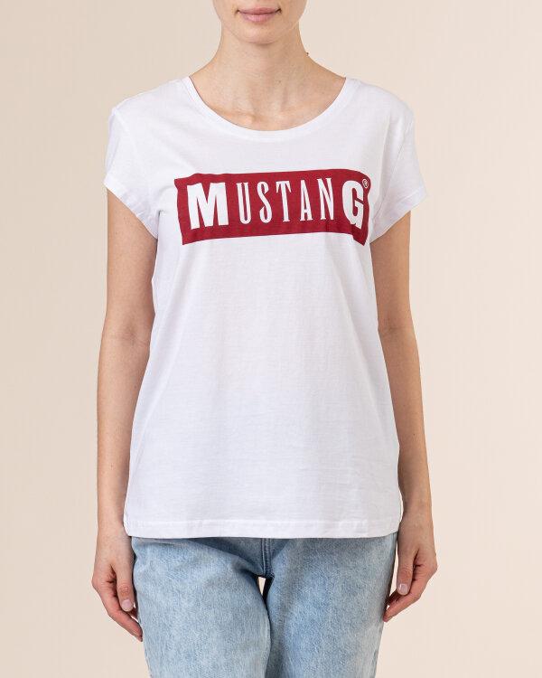 T-Shirt Mustang 1010370_2045 biały