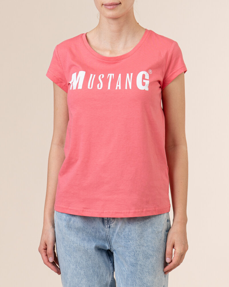T-Shirt Mustang 1005455_8142 różowy - fot:2
