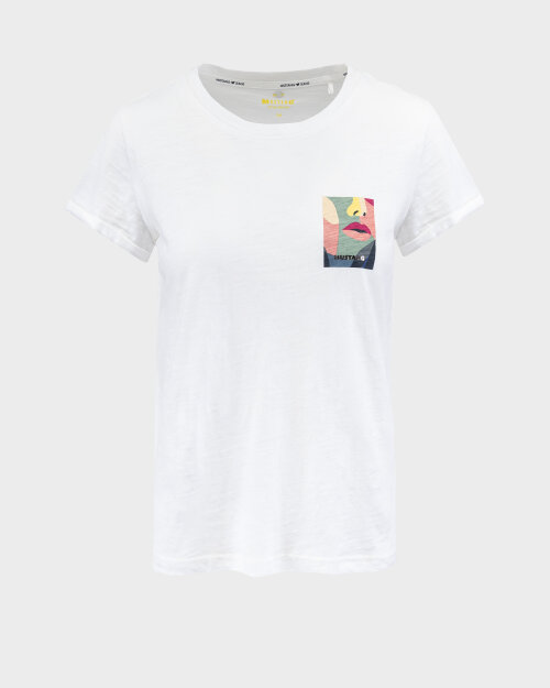 T-Shirt Mustang 1010737_2020 biały