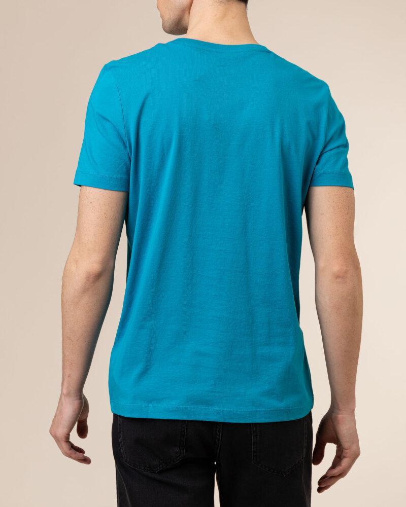 T-Shirt Camel Active 5T02409642_48 niebieski - fot:4