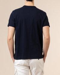 T-Shirt Woolrich CFWOTE0048MRUT1486_3989 granatowy- fot-3