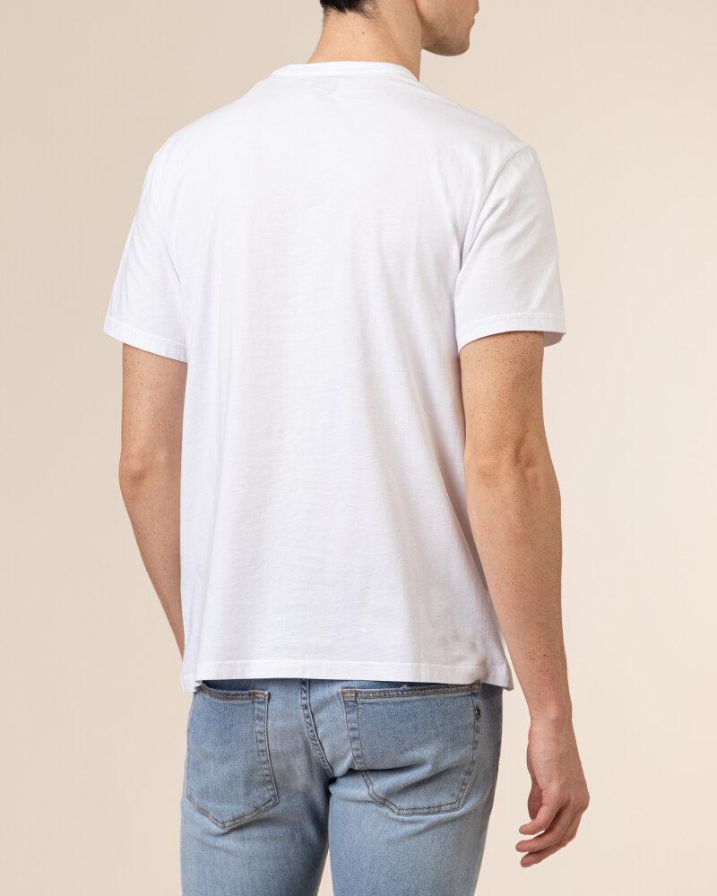 T-Shirt Woolrich CFWOTE0048MRUT1486_8041 biały - fot:4