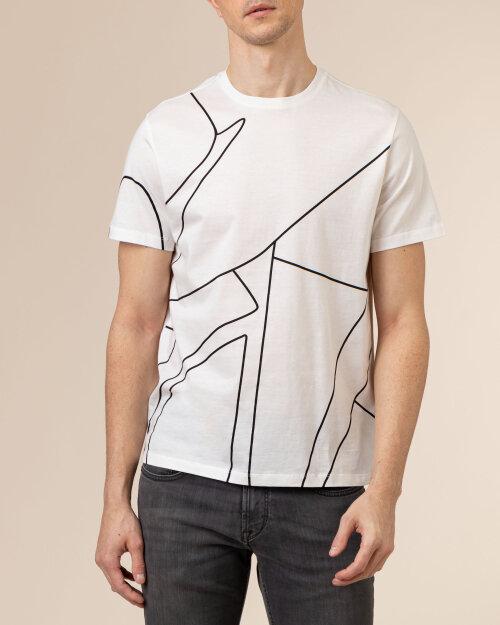 T-Shirt Baldessarini 5015_20012_1015 biały