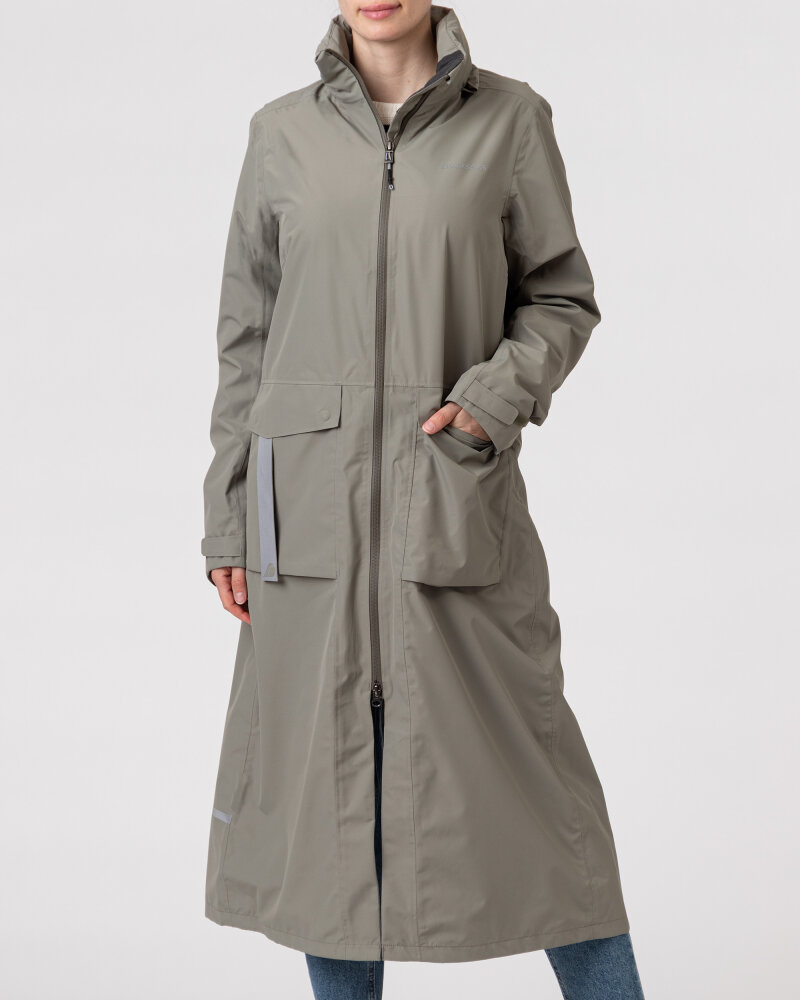 Kurtka Didriksons 503629_Nadja Women's Coat_383 zielony - fot:2