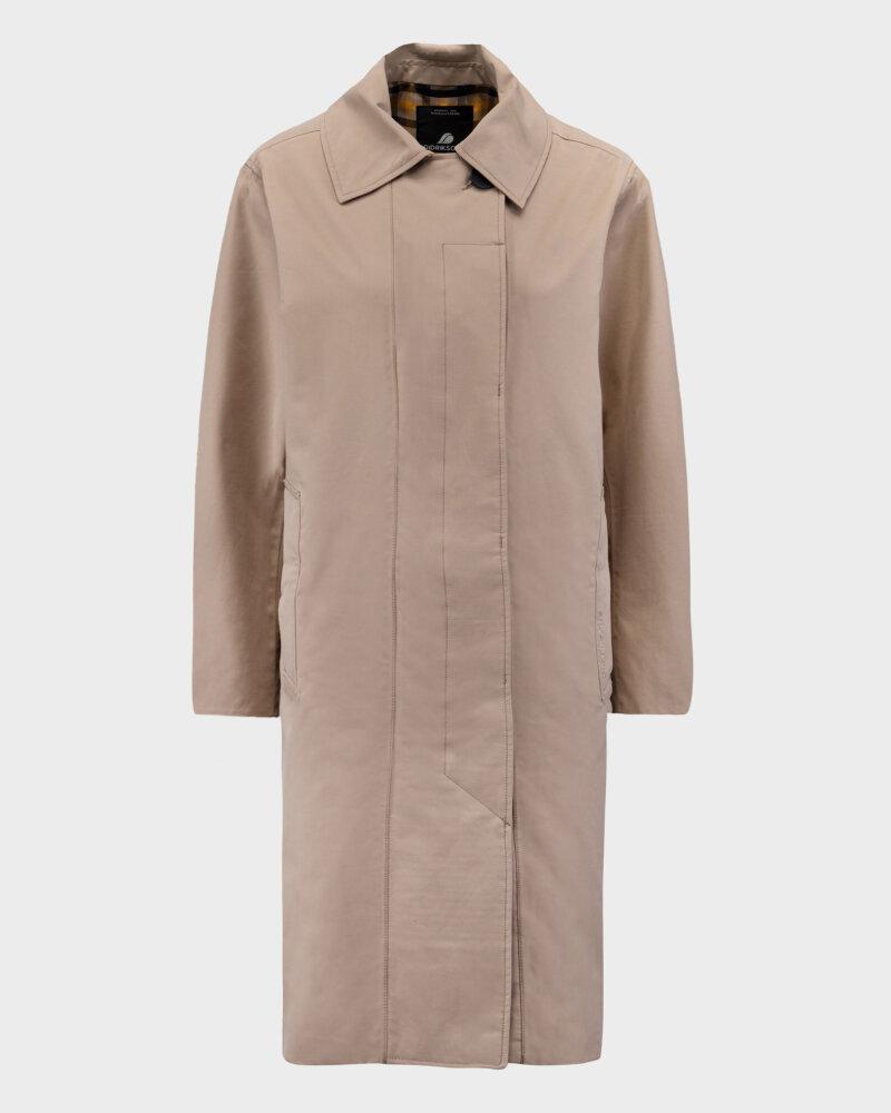 Kurtka Didriksons 503599_Embla Women's Coat_451 beżowy - fot:1