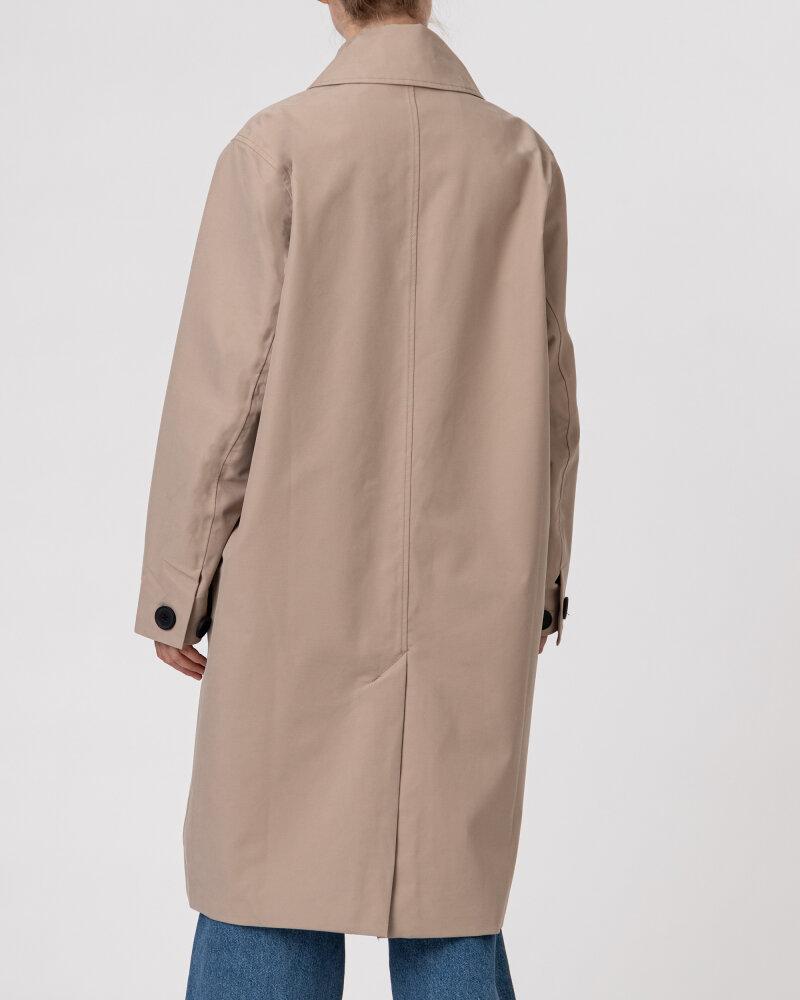 Kurtka Didriksons 503599_Embla Women's Coat_451 beżowy - fot:6