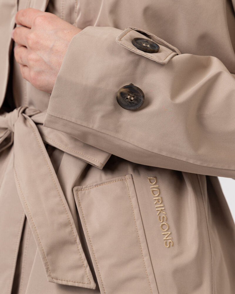 Płaszcz Didriksons 503613_Lova Women's Coat 3_451 beżowy - fot:3
