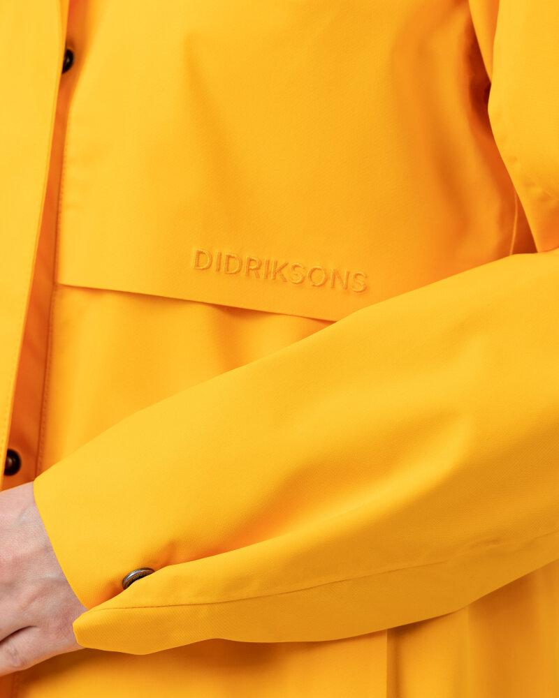 Kurtka Didriksons 503606_Edith Women's Parka _454 żółty - fot:4