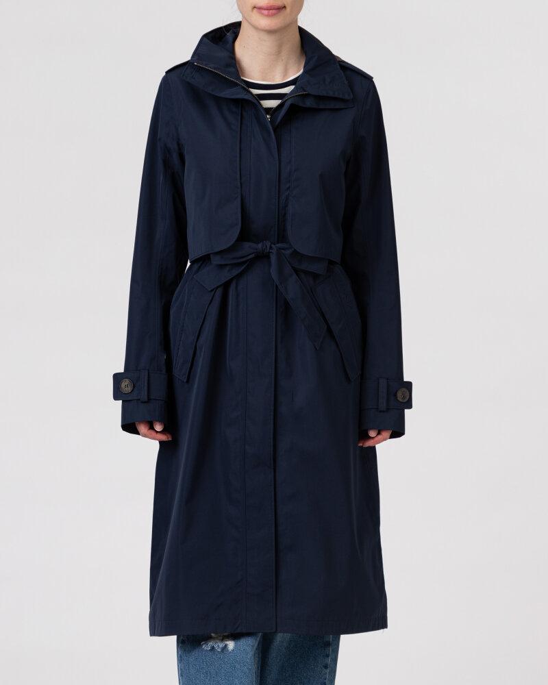 Płaszcz Didriksons 503613_Lova Women's Coat 3_999 granatowy - fot:2