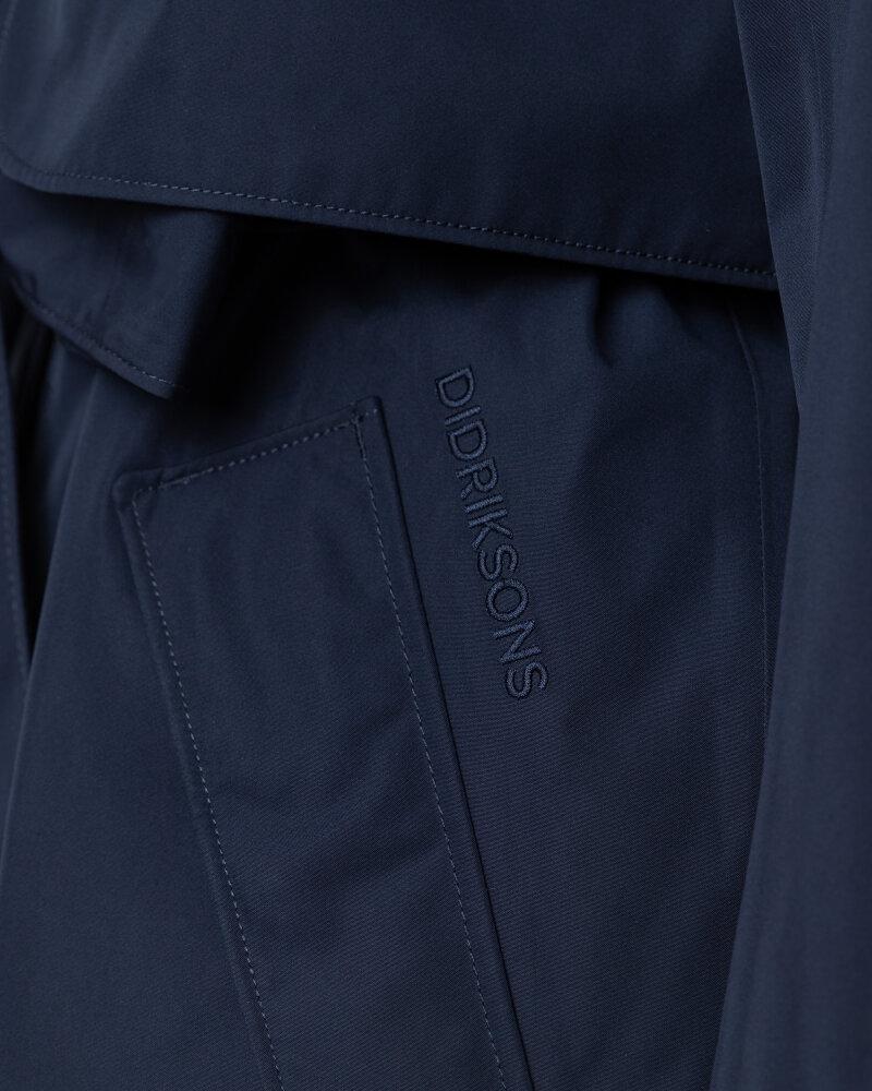 Płaszcz Didriksons 503613_Lova Women's Coat 3_999 granatowy - fot:3