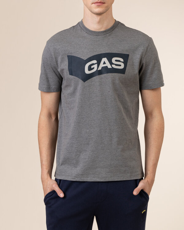 T-Shirt Gas A1118_DHARIS/R GAS BN     _0543 szary