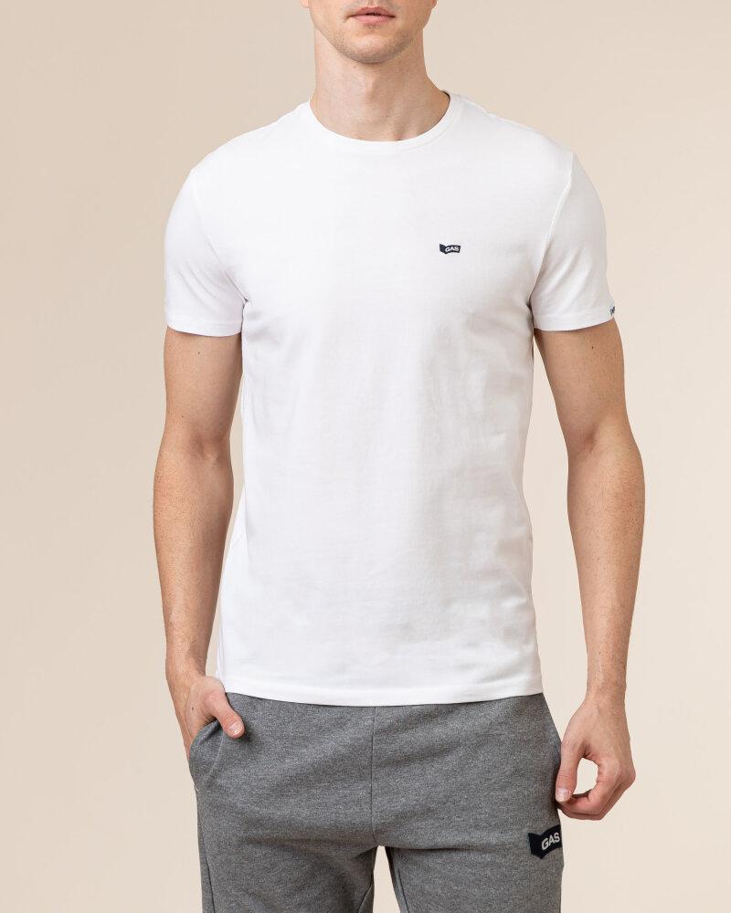 T-Shirt Gas A0513_SCUBA/S STR         _0001 biały - fot:2
