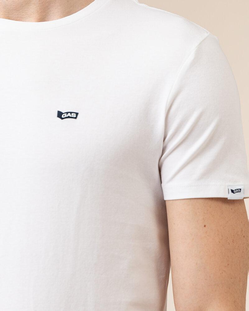 T-Shirt Gas A0513_SCUBA/S STR         _0001 biały - fot:3