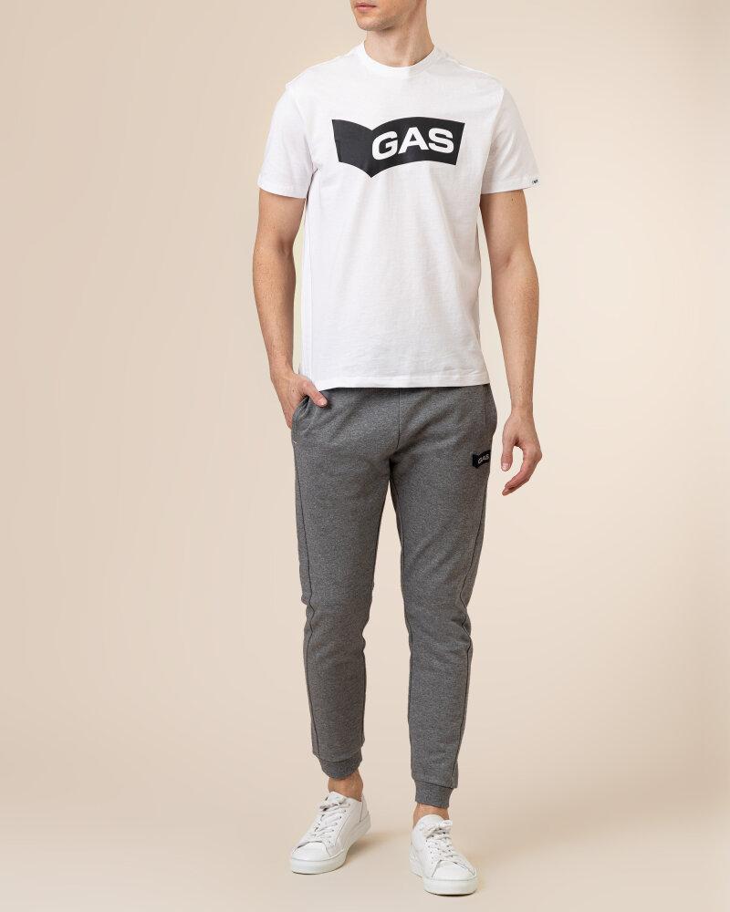 T-Shirt Gas A1118_DHARIS/R GAS BN     _0001 biały - fot:5