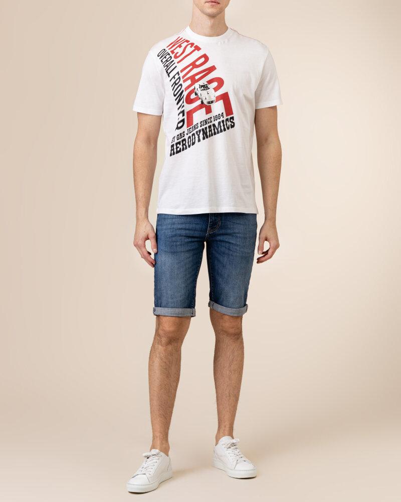 T-Shirt Gas A1214_DHARIS/R WR         _0001 biały - fot:5