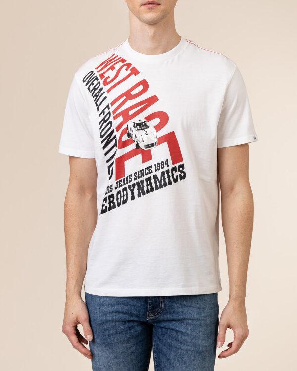 T-Shirt Gas A1214_DHARIS/R WR         _0001 biały
