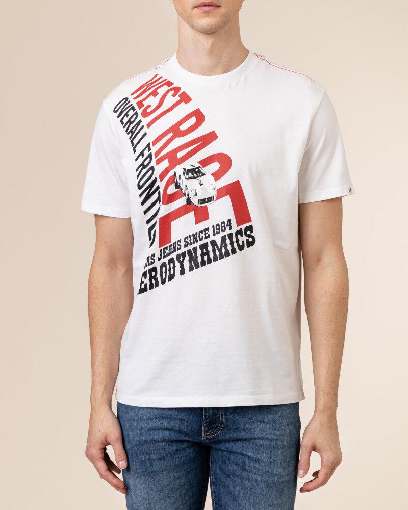 T-Shirt Gas A1214_DHARIS/R WR         _0001 biały - fot:2