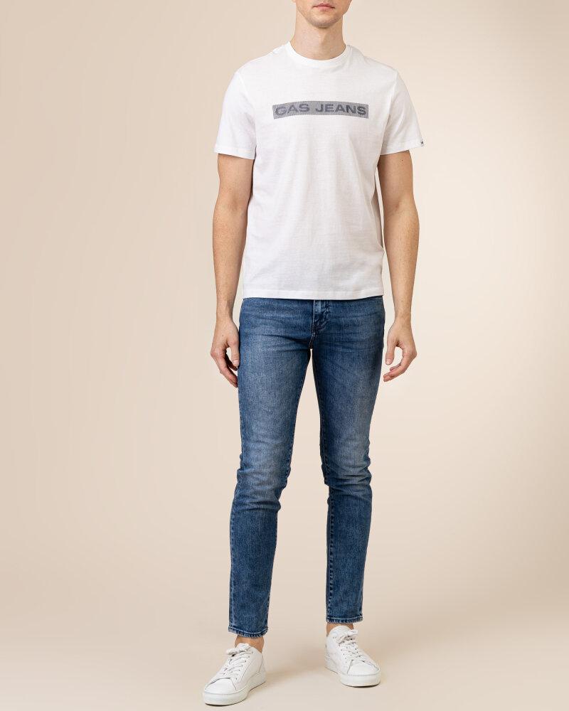 T-Shirt Gas A1105_SCUBA/S LINE        _0001 biały - fot:5