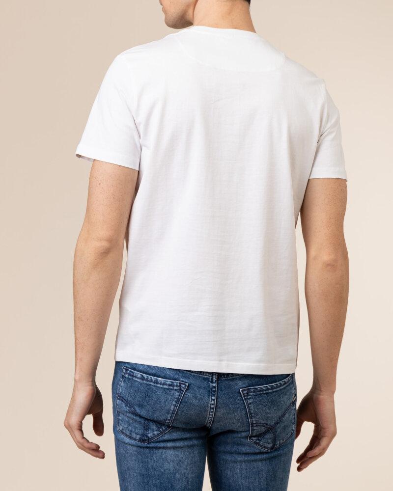 T-Shirt Gas A1105_SCUBA/S LINE        _0001 biały - fot:4