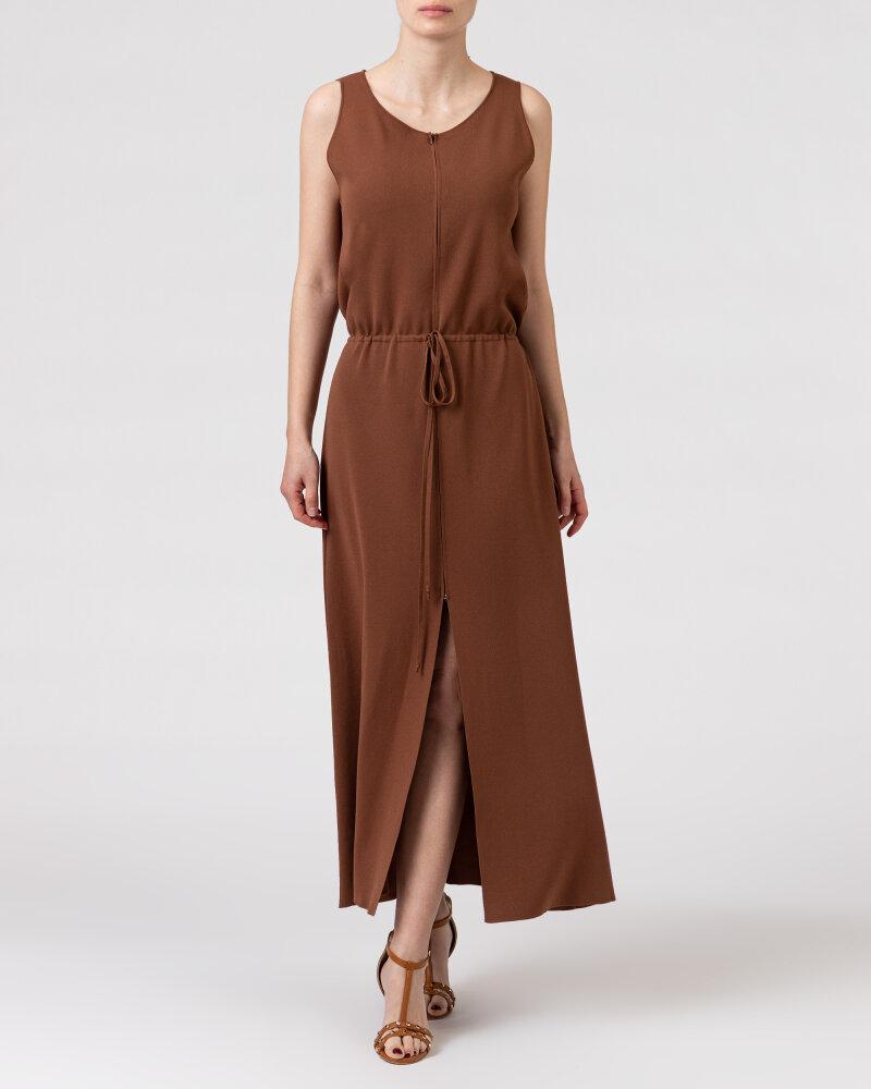 Sukienka Trussardi  56D00503_0F000645_B175 brązowy - fot:2
