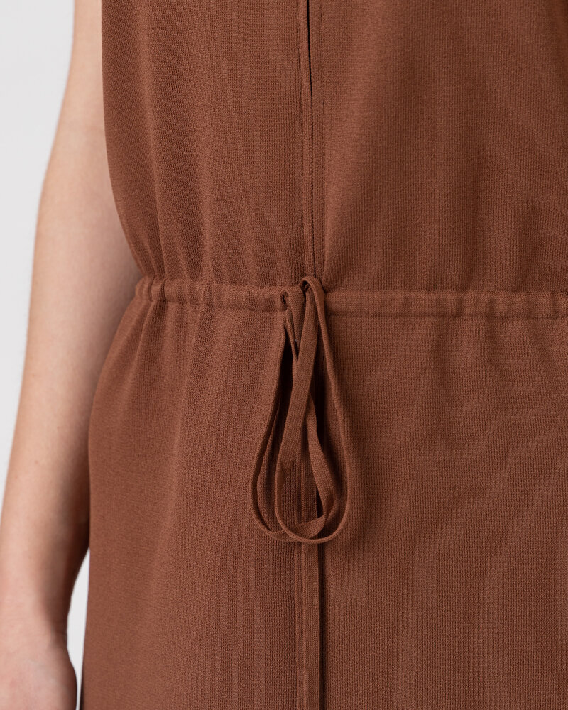 Sukienka Trussardi  56D00503_0F000645_B175 brązowy - fot:4
