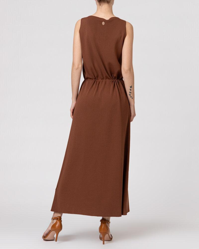 Sukienka Trussardi  56D00503_0F000645_B175 brązowy - fot:6