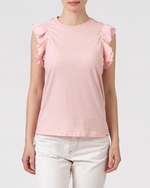 T-Shirt Gas A1149_AMANDINE            _1826 różowy