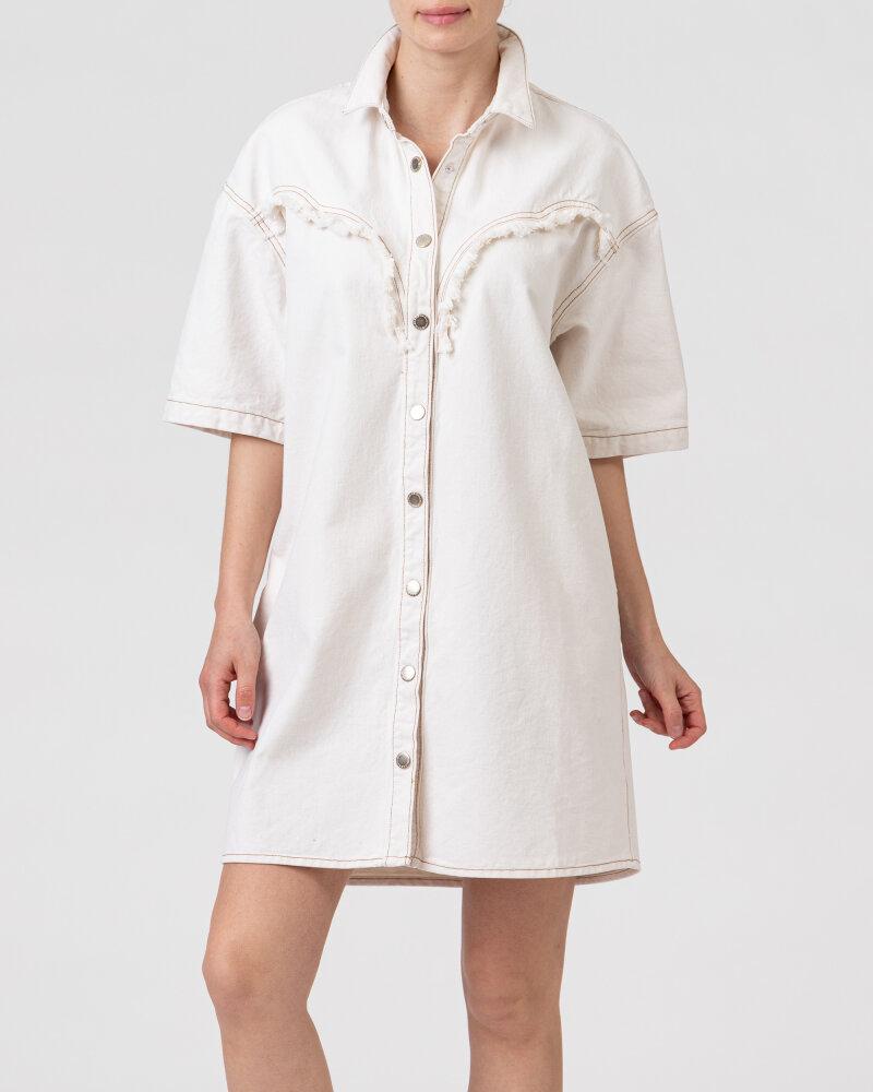 Sukienka Gas A1349_JANE                _WT24 kremowy - fot:2