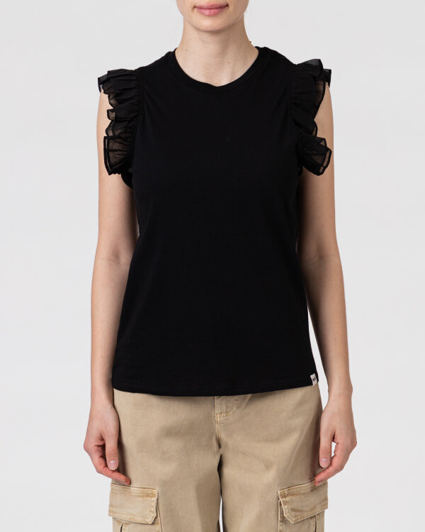 T-Shirt Gas A1149_AMANDINE            _0200 czarny