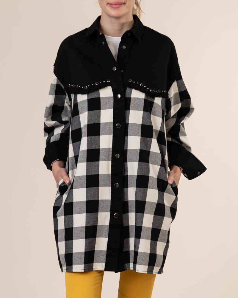 Sukienka Gas A1141_TRINITYE            _0200 czarny - fot:2