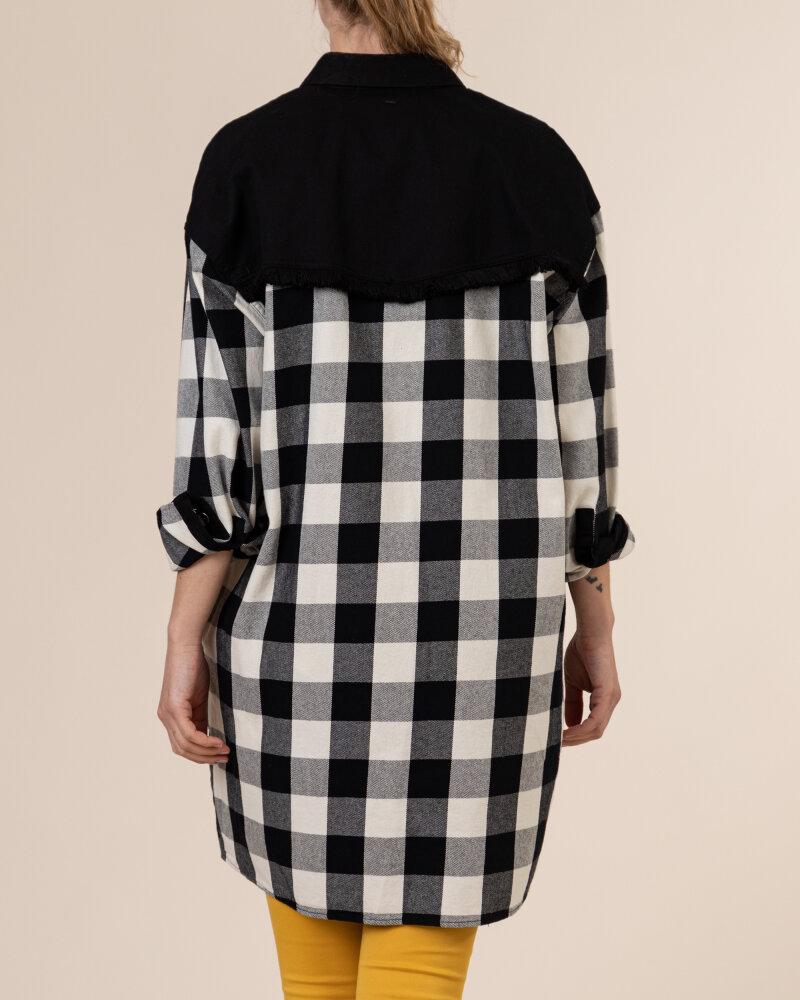 Sukienka Gas A1141_TRINITYE            _0200 czarny - fot:4