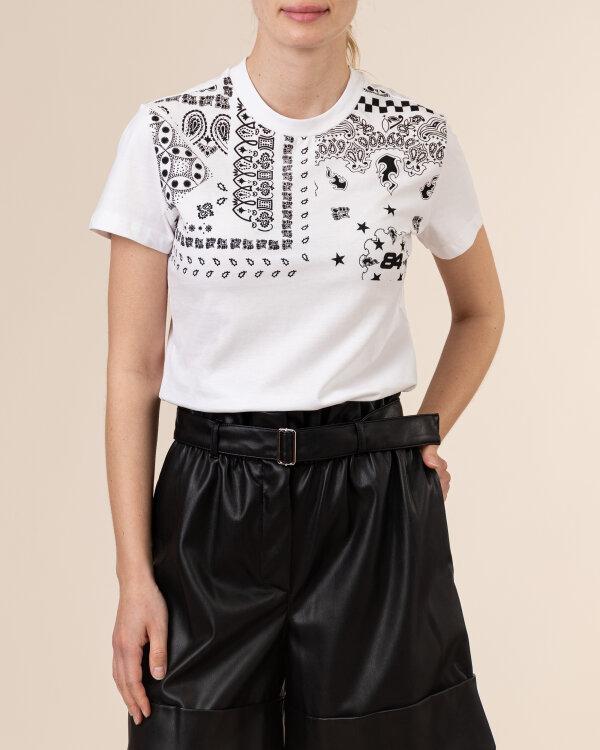 T-Shirt Gas A1239_DOLL S.BANDANA      _0001 biały