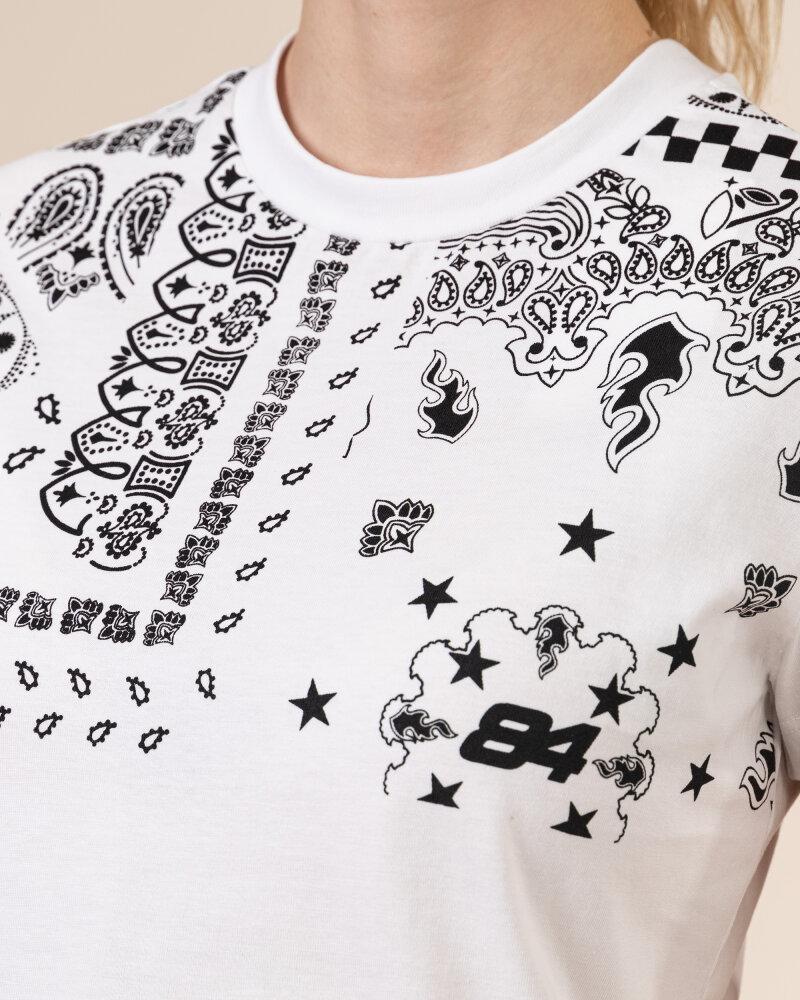 T-Shirt Gas A1239_DOLL S.BANDANA      _0001 biały - fot:3