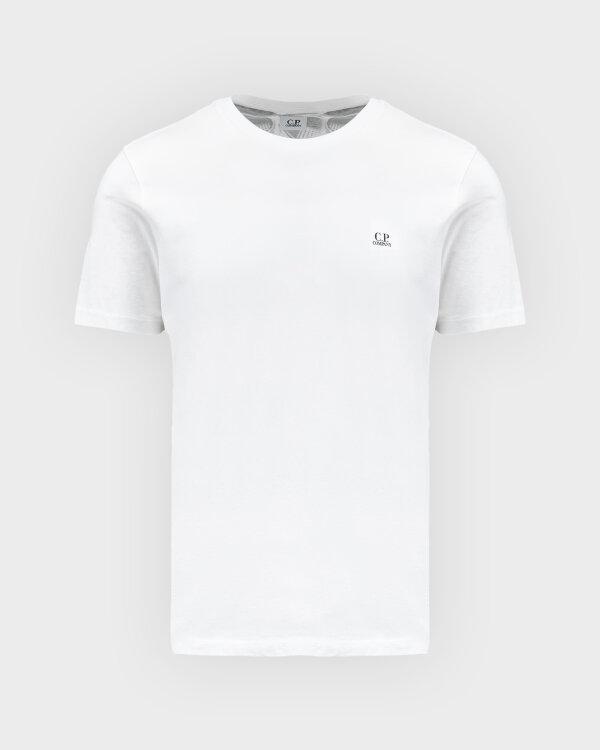 T-Shirt C.p. Company 10CMTS037A005100W_103 biały