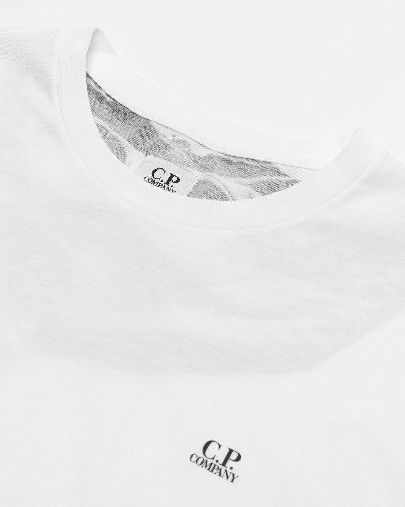 T-Shirt C.p. Company 10CMTS037A005100W_103 biały - fot:2