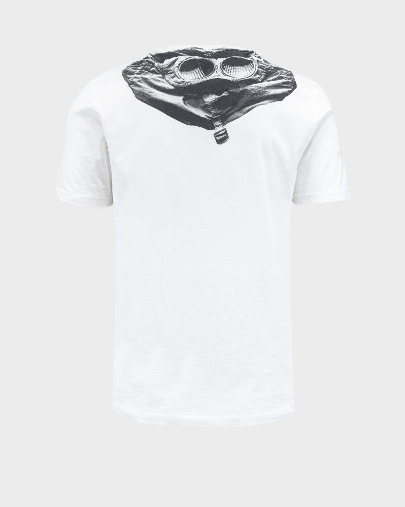 T-Shirt C.p. Company 10CMTS037A005100W_103 biały - fot:4