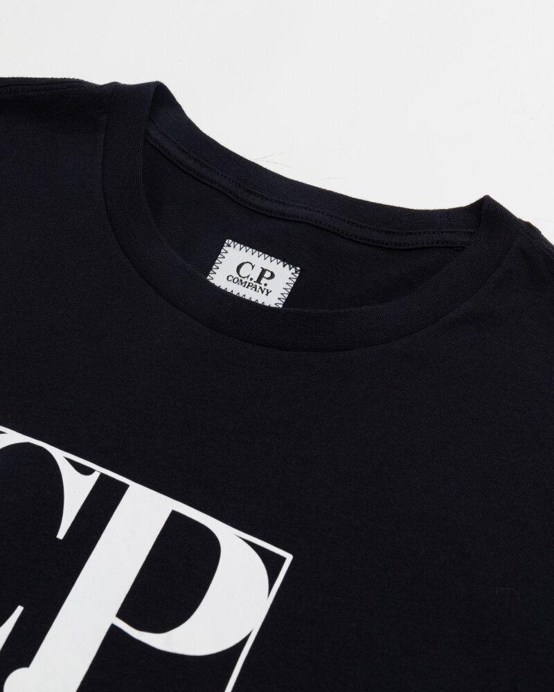 T-Shirt C.p. Company 10CMTS064A005100W_888 granatowy - fot:2