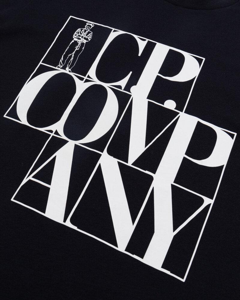 T-Shirt C.p. Company 10CMTS064A005100W_888 granatowy - fot:3
